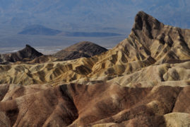 Zabriskie Point. Death Valley, California